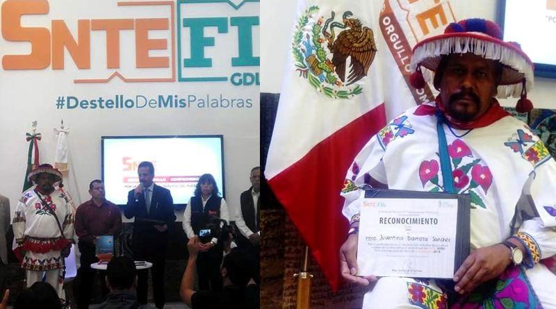 Docente wixárika presenta libro en la FIL de Guadalajara 2018