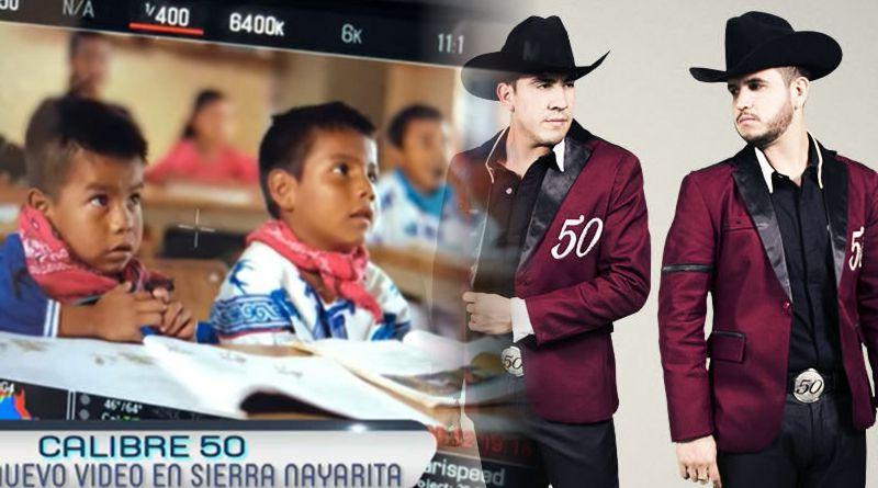 Calibre 50 graba videoclip musical en territorio Wixárika