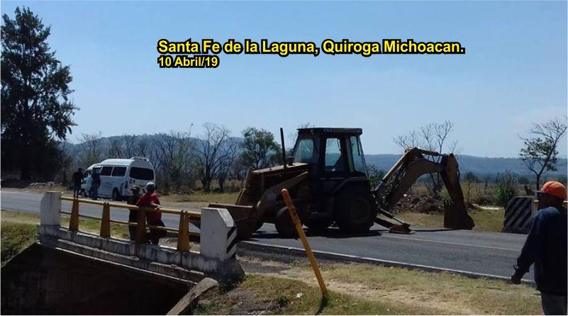 Comunidad Purhepecha cierra carreteras tras engaños de Alcaldía para entregar su Presupuesto Directo