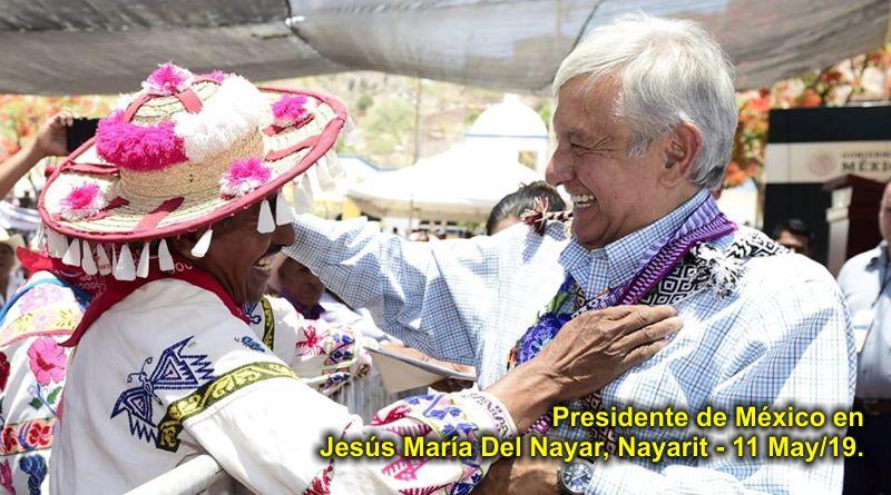 De los indígenas aprendí a trabajar para los humildes: AMLO en Del Nayar