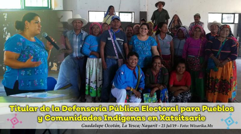 Comunidad Wixárika de La Yesca Nayarit reflexiona sobre su libre determinación y autonomía