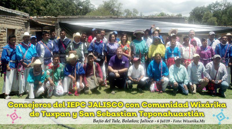 Wixáritari inician Consulta para acceder a su Presupuesto Directo en Bolaños y Mezquitic