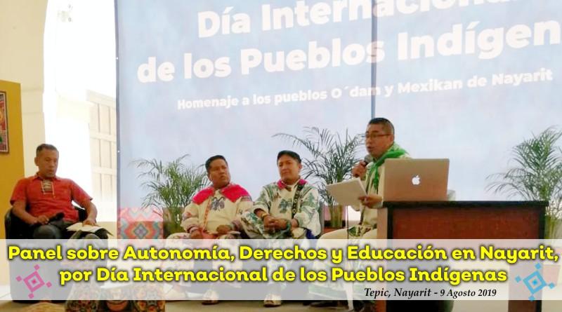 Pueblos Originarios de Nayarit hablan sobre Derechos, Autonomía y Educación