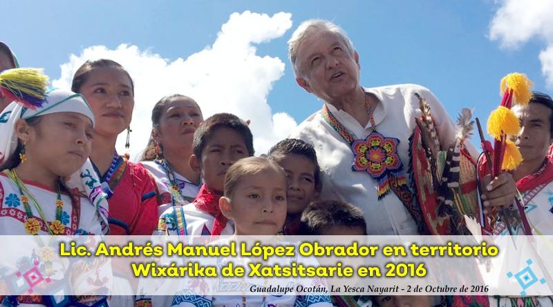 Visitaré todas las regiones indígenas de México: AMLO